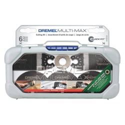BOSCH DREMEL MM389, CUTTING ACCESORY KIT 5 PC - FOR OSCILLATING TOOL MULTIMAX MM389