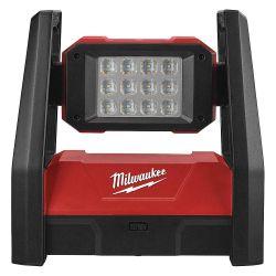 MILWAUKEE 2360-20, FLOOD LIGHT-12 LED M18 - AC/DC 3000 LUMENS MAX OUTPUT 2360-20