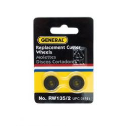 GENERAL TOOLS RW135/2, E.Z. RATCHET II REPLACEMENT - CUTTER WHEELS (PACK OF 2) RW135/2