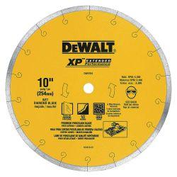 """DEWALT DW4764, BLADE-PORCELAIN TILE - 10"""" PREMIUM DW4764"""