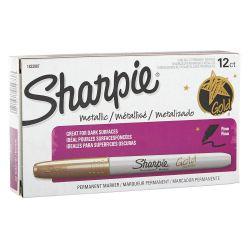 SANFORD SHARPIE 1823887, SHARPIE MARKER-FINE TIP - METALLIC GOLD 1823887