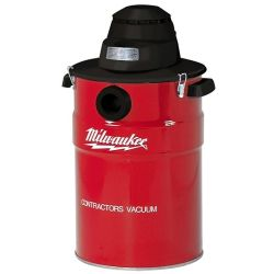 MILWAUKEE 8950, VACUUM- HD WET/DRY 8 GAL 8AMP - 1 STAGE 143 CU.FT./MIN 8950