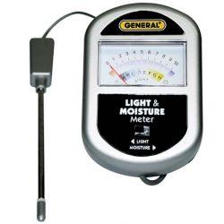 GENERAL TOOLS GLMM100, SOIL MOISTURE & LIGHT METER GLMM100