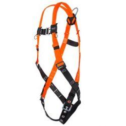 HONEYWELL - NORTH SAFETY 4500/UAK, HARNESS - FULL BODY W/SLIDING - BACK D-RING - 4500/UAK