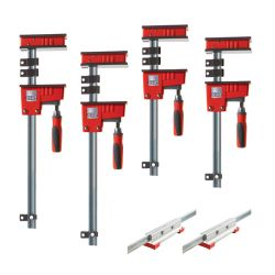"BESSEY TOOLS KRX2450, CLAMP KIT - INCLUDES 2-24"" - 2-50"" K BODY REVO CLAMPS & 2 X KRX2450"