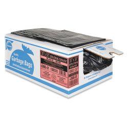 "RALSTON 2663-01, GARBAGE BAG-PLASTIC (250/CS ) - 30"" X 38"" REGULAR ECONO BLACK 2663-01"