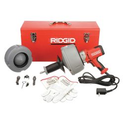 RIDGID 36023, 36023 DRAIN CLEANER, K-45-5 - 120V, COMPLETE KIT 36023