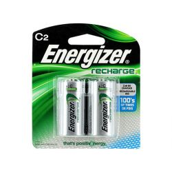 ENERGIZER NH35BP-2, BATTERY-NICKEL METAL-HYDRIDE - 1.2V C2 RECHARGEABLE 2/PK - NH35BP-2