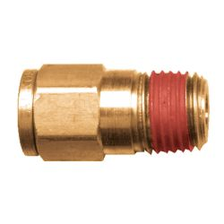 FAIRVIEW PC68-6B, PRESTOLOCK-MALE CONNECTOR - 3/8 X 1/4 TUBE X MPT 68PL-6-4 PC68-6B