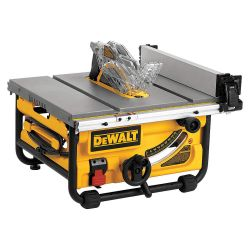 """DEWALT DWE7480, TABLE SAW-JOB SITE 10"""" COMPACT - W/SITE-PRO MODULAR GUARDING DWE7480"""