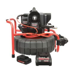 RIDGID 48113, SEESNAKE COMPACT2 CAMERA - REEL W/BATTERY & CHARGER 48113
