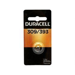 DURACELL D303/357PK, BATTERY-SILVER OXIDE 1.5V - WATCH/CALC SR44/SR47 SOLD/PC D303/357PK