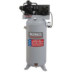 KING TOOLS KC-5160V1, COMPRESSOR HIGH OUTPUT 6.5 PEA - HP-60 GAL 3-CYL-C/IRON L/PUMP KC-5160V1