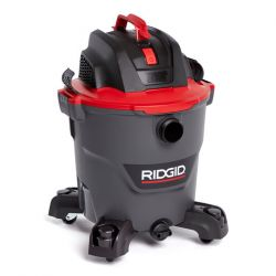 RIDGID 62703, VACUUM WET/DRY 12 GAL - 5 PEAK HP W/DETACHABLE BLOWER 62703