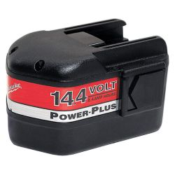 MILWAUKEE 48-11-1024, BATTERY PACK- MILWAUKEE - 14.4 VOLT 2.4 AMP HR - 48-11-1024