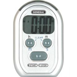 GENERAL TOOLS TI150, DIGITAL COUNT-UP/COUNT-DOWN - TIMER BEEPER, RED LED ALARM TI150