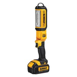 DEWALT DCL050, AREA LIGHT-HAND HELD 20V - 140' PIVOTING HEAD TOOL ONLY DCL050