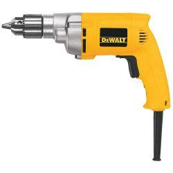 DEWALT DW223G, DRILL HEAVY DUTY 3/8 CAP - VSR 0-1200 RPM DW223G