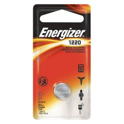 ENERGIZER ECR1220BP, BATTERY-LITHIUM 3 VOLT - .492 DIA X .079 HIGH ECR1220BP