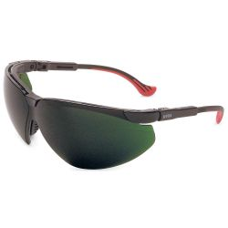 NORTH SAFETY PRODUCTS UVEX S3307, SAFETY GLASSES WELDING SHADE - 5 GREEN - S3307
