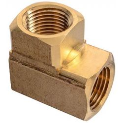 "PAULIN / DOMINION FITTINGS D100-D, PARKER FTG. UNION ELBOW PIPE - 2200P-8-8 BRASS 1/2"" X 1/2"" D100-D"