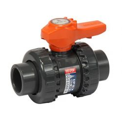IPEX 353003, BALL VALVE-PVC TU 3/4 -SOC WELD/THREADED 353003