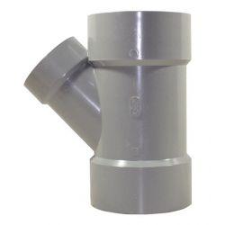 IPEX 026199, WYE 45' PVC-DWV - 6 X 6 X 4 026199