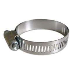 WFS APPROVED HAS-6, GEAR CLAMP-(ALL STAINLESS) #6 - 3/8 TO 7/8 HF-6-SS HAS-6