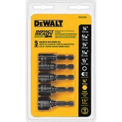 DEWALT DW2235IR G, NUT SETTER SET-IMPACT 5 PC - MAGNETIC DW2235IR G