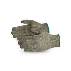 SUPERIOR GLOVE S13KF9, GLOVE-DEXTERITY KEVLAR KNIT - SILICA INFUSED FIBRES SIZE 9 - S13KF9