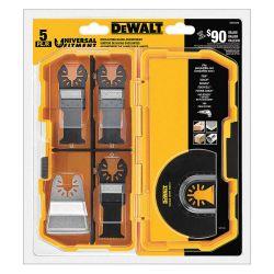 DEWALT DWA4216, BLADE-OSCILLATING 5 PC SET DWA4216