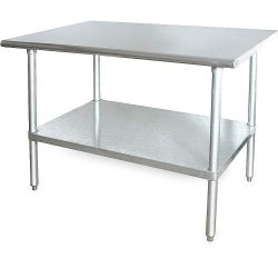 WFS APPROVED 2KRD9, WORKTABLE SS72X30X1.5 - 2KRD9