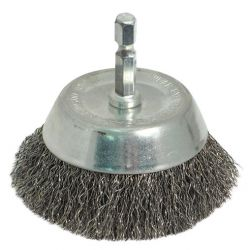 """ROK 45148, END CUP BRUSH 3"""" COARSE 45148"""