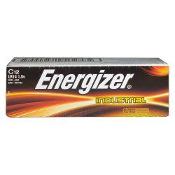 ENERGIZER EN93, BATTERY-INDUSTRIAL ALKALINE - 1.5 VOLT C SIZE EN93