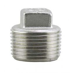 BOSHART INDUSTRIES SSH316P-15, PLUG TYPE 316 1-1/2 - STAINLESS STEEL CLASS 150 - SSH316P-15