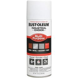 RUST-OLEUM 1681830, PRIMER-RUST INHIBITIVE IC - 12 OZ AEROSOL WHITE - 1681830