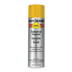 RUST-OLEUM V2148838, PAINT-HARDHAT LSPR 15 OZ - GLOSS LOW VOC EQUIP YELLOW - V2148838