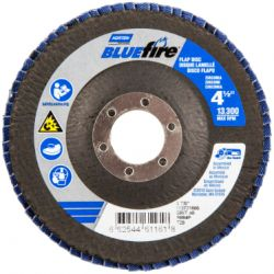 "SAINT-GOBAIN NORTON 61161, FLAP DISC - BLUEFIRE TYPE 29 - 4-1/2"" X 7/8"" 40G 61161"