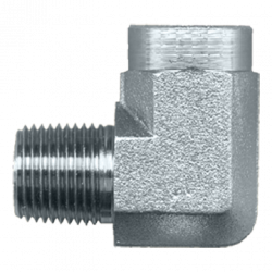 FAIRVIEW S1016H, 90 ELBOW - STEEL - 1 MPTX1 FPT #25UG16 S1016H
