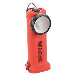 STREAMLIGHT 90503, FLASHLIGHT-SURVIVOR LED ORANGE - W/CHRGR & HOLDER 120VAC/12VDC 90503