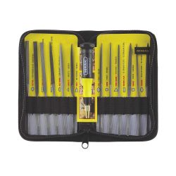 GENERAL TOOLS 707475, 12 PC SWISS PATTERN NEEDLE - FILE SET 707475