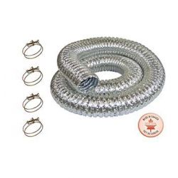 """KING TOOLS KM-102, FIREPROOF 3"""" METAL DUST - COLLECTION HOSES KIT KM-102"""