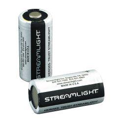 STREAMLIGHT 85179, BATTERY-LITHIUM 3V - CR123A 400/PKG 85179