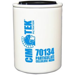 DB FILTRATION 70134, SPIN ON OIL FILTER 10 MICRON - CIM TEK 70134 - 70134