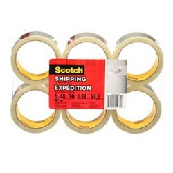 """3M 7100086440, TAPE-PACKAGING-CLEAR - 48 MM X 50 M (2"""" ) - 7100086440"""