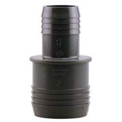 BOSHART INDUSTRIES PVCRC-2012, REDUCING COUPLING-PVC - 2 X 1-1/4 INS X INS PVCRC-2012