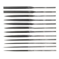 "GENERAL TOOLS S475, 12 PC 5-1/2"" SWISS PATTERN - NEEDLE FILE SET S475"