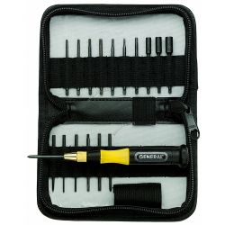 GENERAL TOOLS 63517, 18 PC ULTRATECH SCREWDRIVER - AND PICK SET 63517