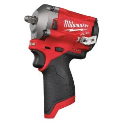 "MILWAUKEE 2554-20, IMPACT WRENCH-STUBBY 3/8"" - M12 TOOL ONLY - 2554-20"