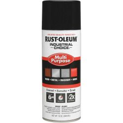 RUST-OLEUM 1679830, PAINT-IC ENAMEL FASTDRY 12 OZ - AEROSOL GLOSS GLOSSY BLACK 1679830
